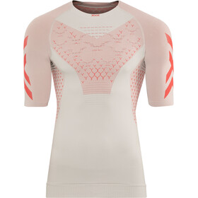 X-Bionic Twyce G2 Hardloop T-shirt Heren, dolomite grey/sunset orange